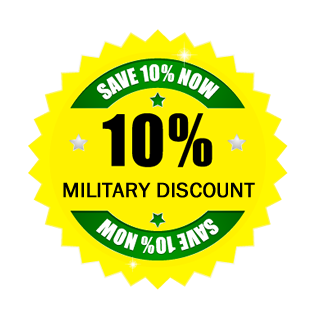 10% Military Discount